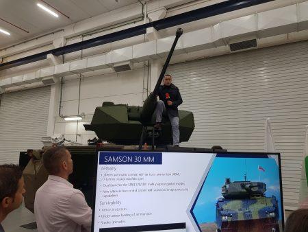 Samson 30mm turret & RWS